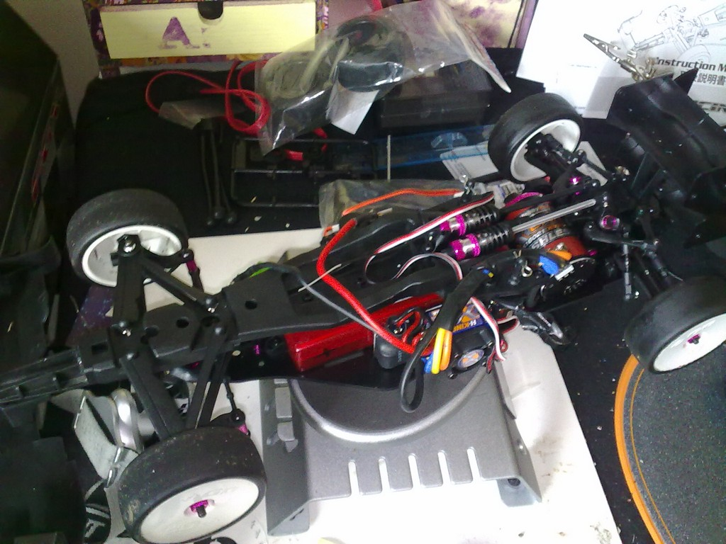 3 RACING SAK-F26 Aluminium Rouleau différentiel 1//10 Sakura FF RC TOURING CAR